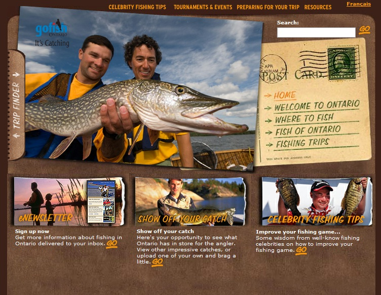 Fly fishing in ontario new youtube channel shows province for Fishing youtube channels