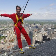 A Bird's Eye View Of The City: Edge Walk At The CN Tower In Toronto