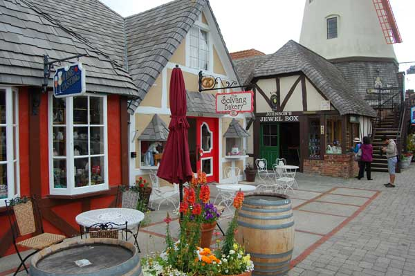 Could have fooled me. Very Danish looking street in Solvang, California.