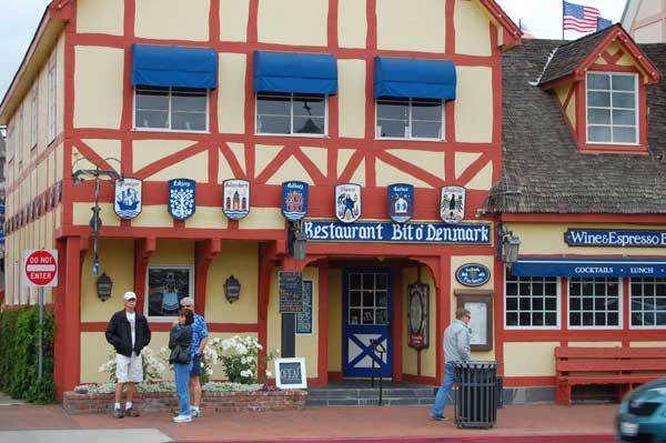 Many of the villages surrounding Solvang look like American Western towns, so it it pretty funny seeing these European style houses.