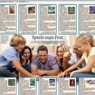 Pressespiegel 2013: Spiele-Rezensionen und Artikel über Brett- und Kartenspiele
